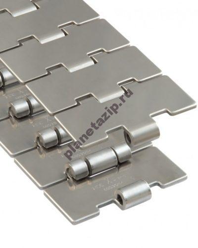 пластинчатая нержавеющая SSC 815 K400 762.53.40 SSC815400 400x500 - Цепь пластинчатая нержавеющая SSC 815-K400 101,6мм 762.53.40 (SSC815400)