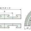 Сектор поворотный одноручьевой 880/881 K750 R500/90  k=190,5мм 72221612 – изображение 3