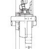 Подшипниковый узел UKF209 SKF – изображение 3