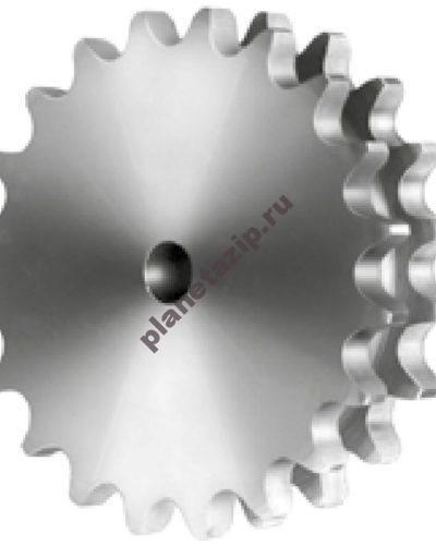din8187 isor6063 8x7 32 2 268 400x500 - Звездочка без ступицы под расточку для цепи 05B-2, 8 x 8 мм, Z=26 CD04026 Sati