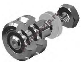 fr22ei concentric v line guide roller bearing 9x22x37mm - Опорный ролик FR 22 EI NBS