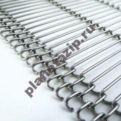 11 сетка глазоровчная - Сетка конвейерная глазировочная Тип 11 (DP700/ DP700E)