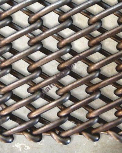 4654 400x500 - Сетка конвейерная транспортерная Тип 2