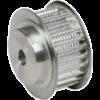Шкив зубчатый под расточку профиль ремня T 123T20/25-2 (PHP 123T20/25-2RSB) Sati – изображение 2