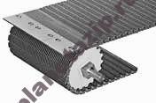 100 raised rib - Модульная лента Intralox Series S 100 Raised Rib