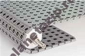 400 0.78in d 90 d angled roller - Модульная лента Intralox Series S 400 0.78 in Diameter 90-Degree Angled Roller