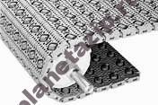 400 30 angled roller - Модульная лента Intralox Series S 400 30° Angled Roller