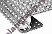400 roller top - Модульная лента Intralox Series S 400 Roller Top