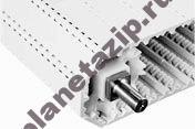 800 open hinge flat top - Модульная лента Intralox Series S 800 Open Hinge Flat Top