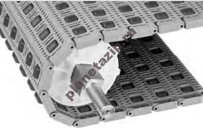 QIP Shot Screen 375 1 400x252 - Модульная лента Intralox Series S 400 0.85 in Diameter Transverse Roller Top