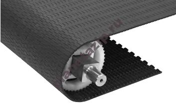 QIP Shot Screen 381 - Модульная лента Intralox Series S 550 Tight Transfer Flat Top