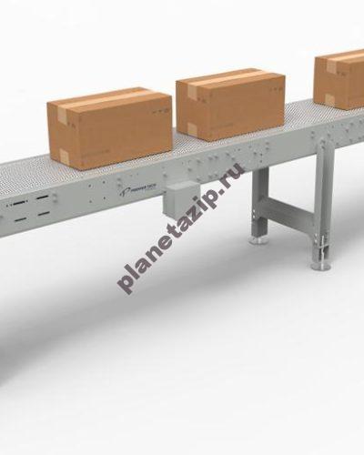 модульный прямой 400x500 - Конвейер модульный прямой