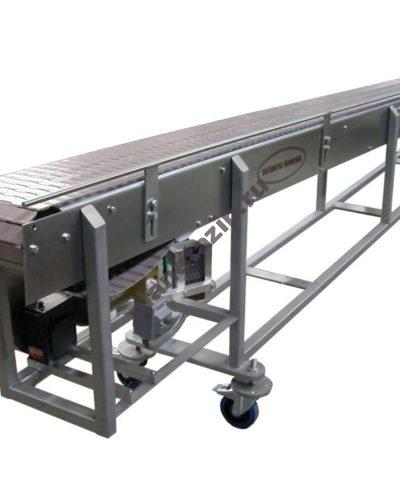 конвейер прямоходный 400x500 - Пластинчатый конвейер прямоходный