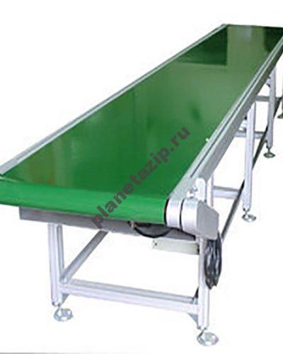 ленточный конвейер с ПВХ ПУ лентой 1 400x500 - Прямой ленточный конвейер с ПВХ/ПУ лентой
