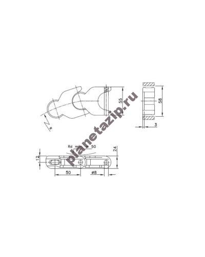hp 1720 400x500 - Цепь  WLF 1710 K L1710WLFK