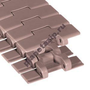 Поворотные пластиковые пластинчатые цепи System Plast
