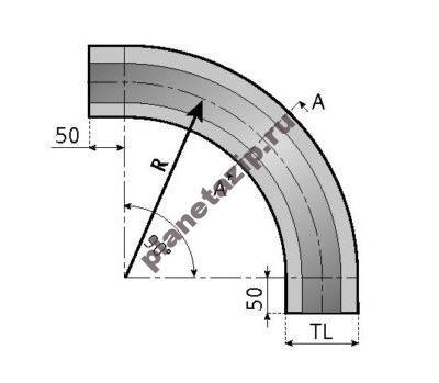 skizze kurve 3 510x349 400x349 - Направляющая для цепи 882 _ K450-750-1200
