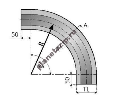 skizze kurve 5 510x349 400x349 - Направляющая для цепи 881 – 881O