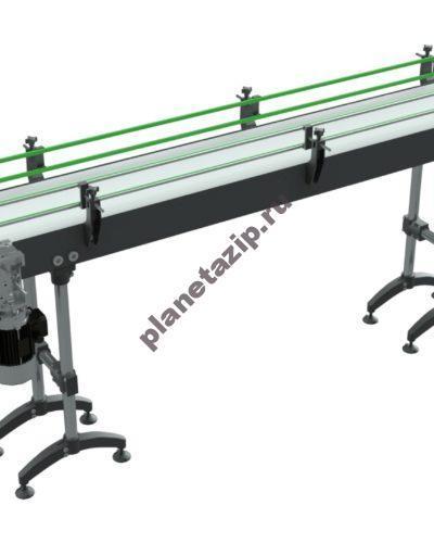 dlya markirovki produkcii 400x500 - Ленточный конвейер  для маркировки штучной продукции
