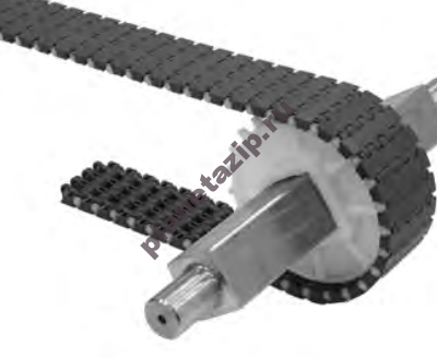 modulnaja lenta intralox series s 1000 mold to width flat top 400x328 - Модульная лента Intralox Series S 1000 Mold to Width Flat Top