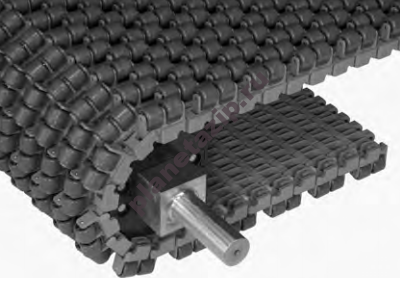 modulnaja lenta intralox series s 1700 transverse roller top 400x285 - Модульная лента Intralox Series S 1700 Transverse Roller Top