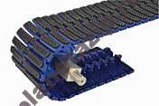 modulnaja lenta intralox series s4092 sideflexing square friction top - Модульная лента Intralox Series  S4092 Sideflexing Square Friction Top