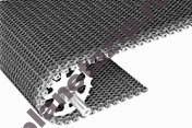 radius flush grid friction top 2.2 with load sharing edge - Модульная лента Intralox Series S 2400 Radius Flush Grid Friction Top 2.2 with Load-Sharing Edge