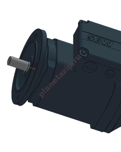 drs 400x500 - Электродвигатель переменного тока  DRS100LC2 4 кВт 3000 об/мин