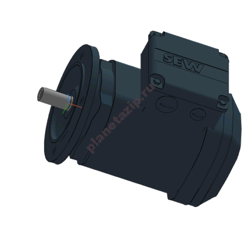 Электродвигатель переменного тока  DRS132M4 7,5 кВт 1500 об/мин