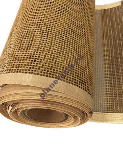 high temperature resistance ptfe teflon  400x500 - Сетка ПТФЭ армированная арамидной (кевларовой) тканью 395B/30 , ячейка 1,5х1,5 мм