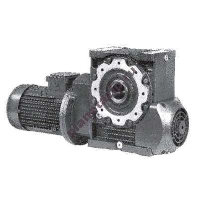 Мотор-редуктор Rossi  MR 2IV 100-90 LC 4 2.2 квт (13.8 об/мин)