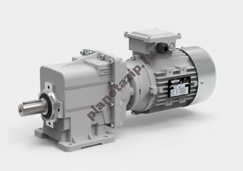 Мотор-редуктор TRC 02-12,05-232-B3-2,2-86,9-380-50 (2Р,B01) sf=2,3