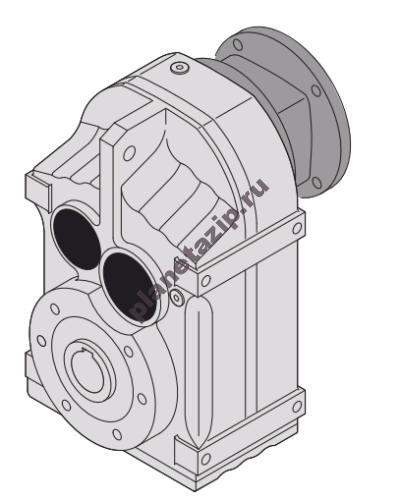 fa 400x500 - Редуктор цилиндрический FA107