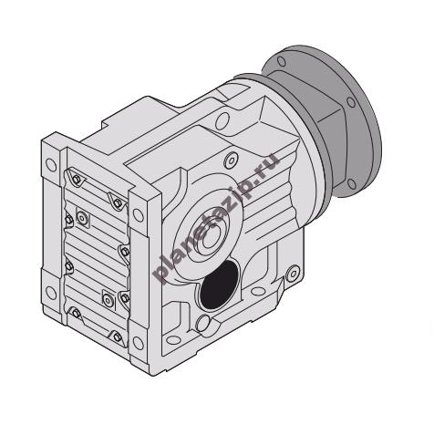 Коническо-цилиндрический редуктор KA57