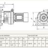 Мотор-редуктор TR 78F-45,81-31-B5-2,2-660-380-50 (4Р) sf=1,24 – изображение 3