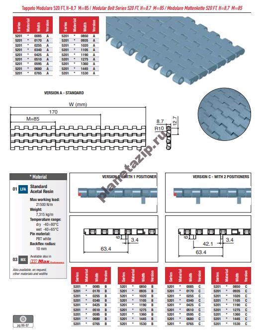 izobrazhenie 2020 11 07 191111 - Лента модульная Movex 520 FT