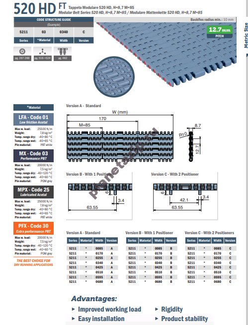 izobrazhenie 2020 11 07 204619 - Лента модульная Movex 520 HD FT