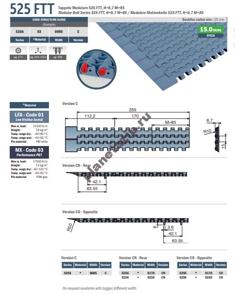 izobrazhenie 2020 11 08 142654 - Лента модульная Movex 525 FTT