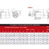 Электродвигатель YS8026 0,55 квт 1000 об/мин – изображение 5