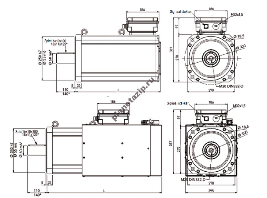 izobrazhenie 2021 01 09 183408 - Серводвигатель  Lafert B16.300Q