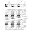 Лента модульная SERIES E30 SLIDING ROLLERS – изображение 3