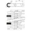 Лента модульная SERIES E40 SLIDING ROLLERS – изображение 3