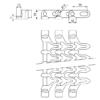 Лента модульная SERIES E93 FLUSH GRID WITH EDGE TAB – изображение 3