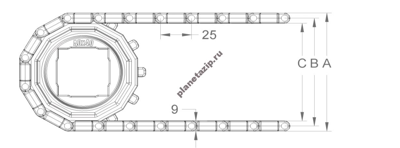 izobrazhenie 2021 04 14 205637 - Лента модульная S.25-400