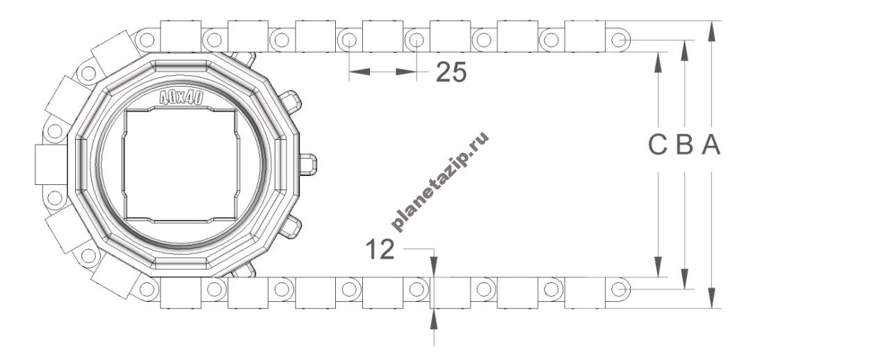 izobrazhenie 2021 04 14 211131 - Лента модульная S. 25-400 F/2 с фрикционными вставками