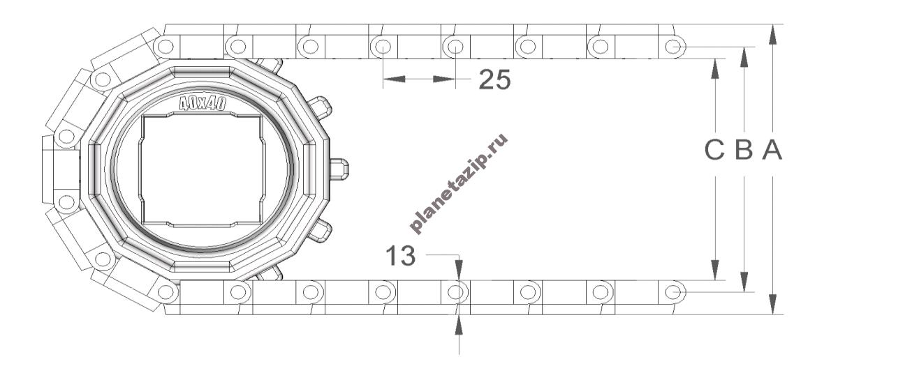 izobrazhenie 2021 04 14 211333 - Лента модульная S.25-402