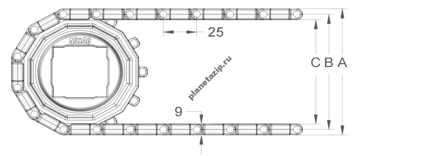 izobrazhenie 2021 04 14 213315 - Лента модульная S.25-408