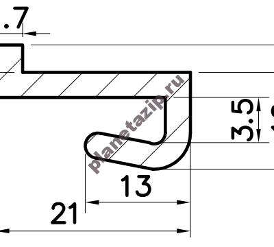 izobrazhenie 2021 04 28 210644 400x360 - Профиль скольжения ZK PZK00V / PZK00N