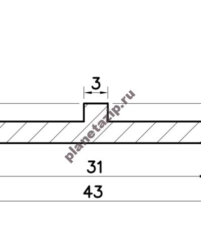 izobrazhenie 2021 04 28 211351 400x500 - Профиль скольжения  TR PTR00V / PTR00N