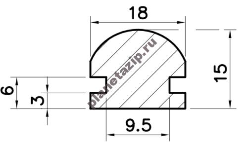Профиль скольжения RP PRP00V / PRP00N / PRP00W